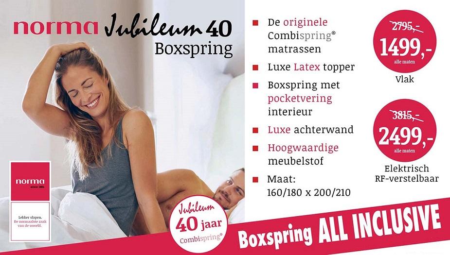 Norma Jubileum Boxspring