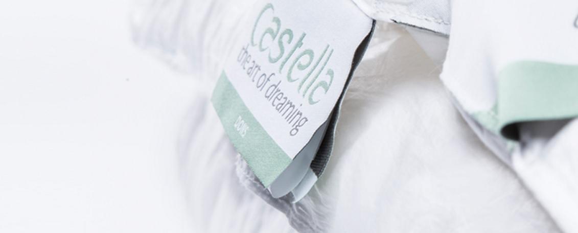 Castella hoofdkussens en dekbedden
