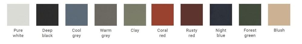 Auping Essential framekleuren