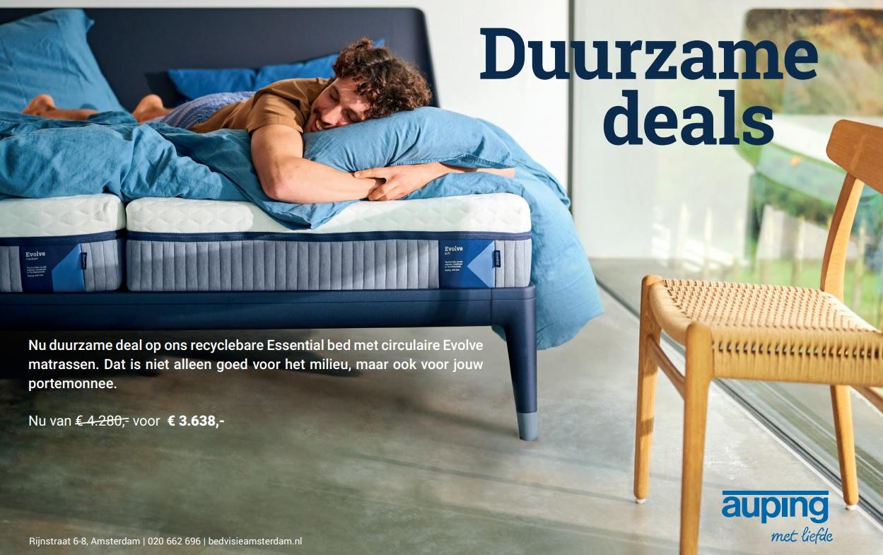 Auping duurzame deals